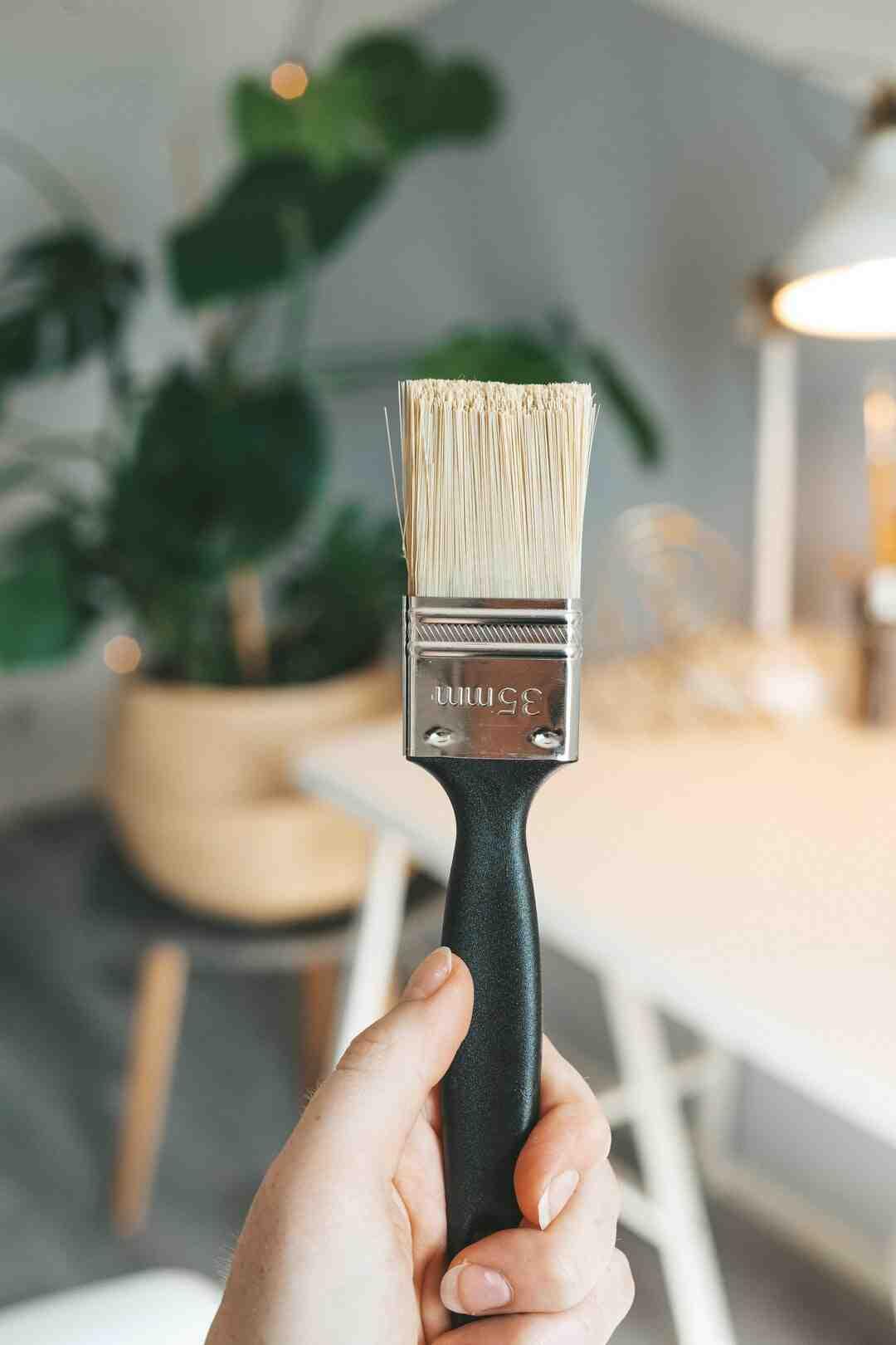 Comment nettoyer un pinceau