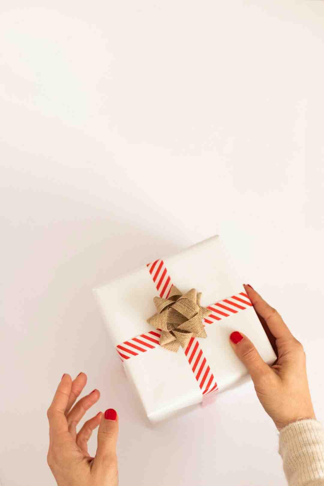 Comment faire un sac cadeau